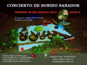 Concierto de cuencos Angeles Sanz