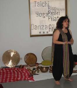 Angeles Sanz, terapeuta de sonido