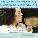 Taller de cantoterapia, y concierto