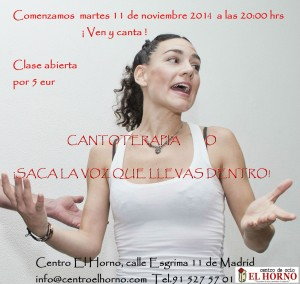 Cantoterapia en Madrid