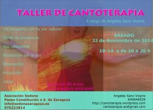 Cantoterapia en Zaragoza