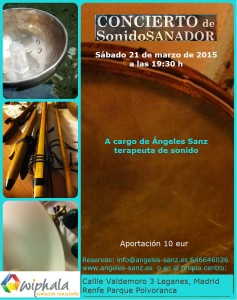 Sonido sanador Angeles Sanz