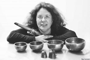 Ángeles Sanz, autora de Almagua